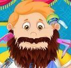Fazer barba e cabelo do senhor