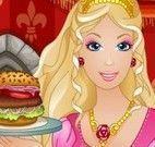 Barbie lanchonete de hamburguer