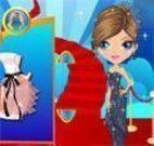vestir garota para evento importante