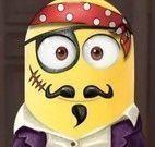 Minion máscara de caranaval