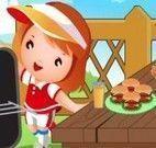Decorar mesa de churrasco das crianças