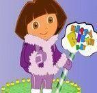 Bolo de aniversário da Dora