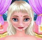 Limpeza facial da Elsa
