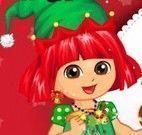 Dora roupas para Natal