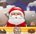 Papai Noel bolinhas de chocolate