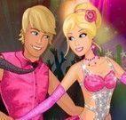 Barbie e Ken dançarinos