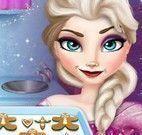 Elsa fazer biscoitos