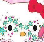 Máscara da Hello Kitty
