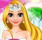 Penteado da Rapunzel noiva