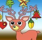 Pintar desenhos natalinos