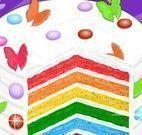 Preparar bolo arco íris