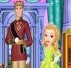 Princesa Amber limpar castelo