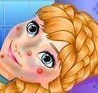 Princesa Anna cuidar da pele