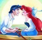Ariel montar quebra cabeça
