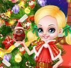 Barbie e Ken bebê decorar árvore