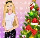 Barbie limpar casa natal