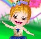 Bebê Hazel fada bailarina
