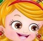 Bebê Hazel roupas do natal