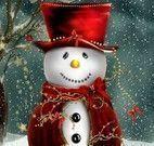 Boneco da neve quebra cabeça