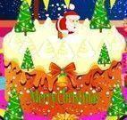 Dora fazer bolo de natal