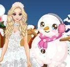 Elsa roupas do ano novo
