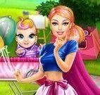 Mamãe Super Barbie