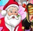 Papai Noel machucado