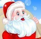 Papai Noel no spa