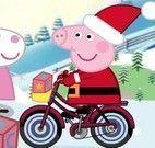 Peppa Pig aventuras na neve