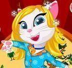 Pijama de natal da Angela