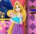 Rapunzel decorar quarto do bebê
