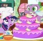 Receita de bolo My Little Pony
