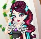 Roupas da Raven Queen na escola