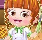 Bebê Hazel roupas de cozinheira