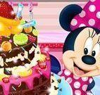 Bolo de chocolate da Minnie