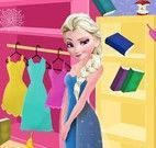 Elsa arrumação e limpeza do quarto