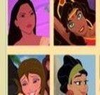Jogo da memória princesas
