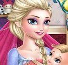 Mamãe Elsa cuidar da pele