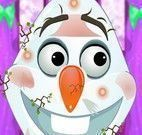 Olaf no banho