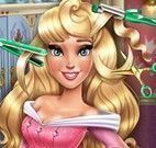 Princesa Aurora cabeleireiro