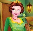 Princesa Fiona limpar casa