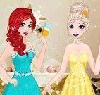 Princesas elegantes para brindar
