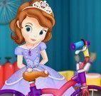 Sofia consertar bicicleta