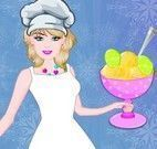 Barbie fazer receita de sorvete de limão