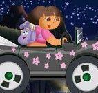 Dora dirigir carro de noite