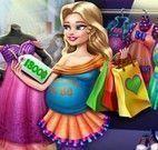 Grávida comprar roupas
