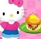 Hello Kitty fazer hambúrguer