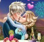 Jantar de namorados Elsa e Jack