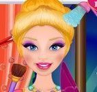 Limpeza e maquiagem da princesa