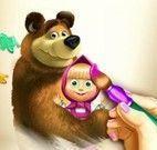 Pintar livro da Masha e Bear